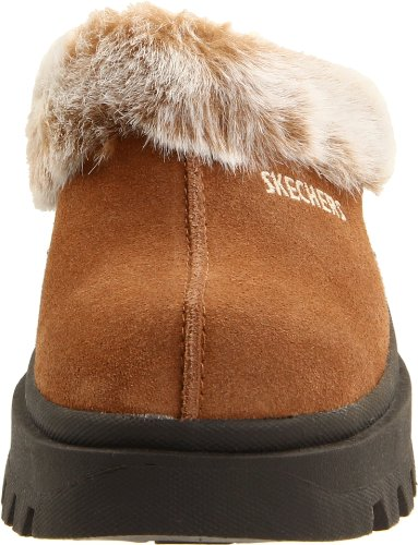Skechers Fortezza Clog Slipper Chestnut