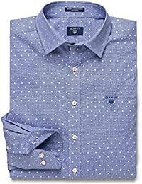 Gant Men's Winter Houndstooth Casual Shirt