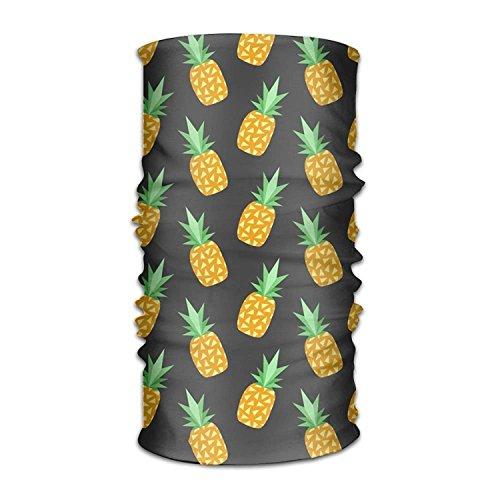 BBBBA Winddichte Sportmaske Yellow Pineapple 16-in-1 Magic Scarf,Face Mask,Fishing Mask,Thin Ski Mask,Neck Warmer Balaclava Bandana