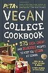Peta's Vegan College Cookbook: 275 Ea...