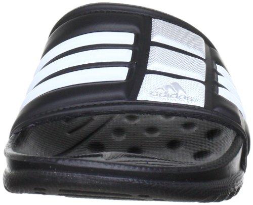 Adidas - Mungo Qd, Infradito, unisex Nero (black 1/white/metallic silver)