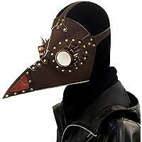 XC Steampunk Pest Schnabel PU Maske, Stachel Brille Design, Halloween Cosplay Party-Accessoires, Brown preisvergleich bei billige-tabletten.eu
