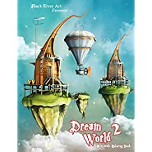 Dream World 2 Grayscale Coloring Book A Of Fantasy Adult