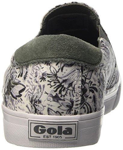 Gola - Delta Liberty Bg, Scarpe da ginnastica Donna Bianco (Weiß (White/Grey))