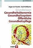 Grundwissen Gesundheitsökonomie, Gesundheitssystem, Öffentliche Gesundheitspflege (Querschnittsbereiche)