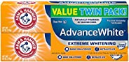 Arm & Hammer, AdvanceWhite, Extreme Whitening Toothpaste, Clean Mint, Twin Pack, 6.0 oz (170 g)