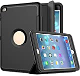 iPad Case, iPad Mini 4 Case, SAYMAC Three Layer Drop Protection Rugged Protective
