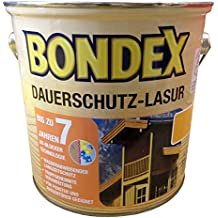 Bondex Dauerschutz-Lasur Weiss 800 2,5 L