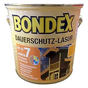 bondex dauerschutz lasur wei 2 50 l 329930 baumarkt. Black Bedroom Furniture Sets. Home Design Ideas