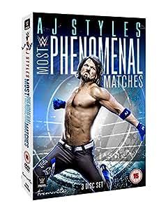 WWE: AJ Styles Most Phenomenal Matches [DVD]