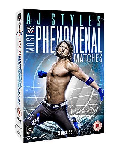 Preisvergleich Produktbild WWE: AJ Styles Most Phenomenal Matches [3 DVDs]