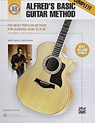 Alfred's Basic Guitar Method, Complete: The Most Popular Method for Learning How to Play (Alfred's Basic Guitar Library) by Morty Manus (2002-03-01)