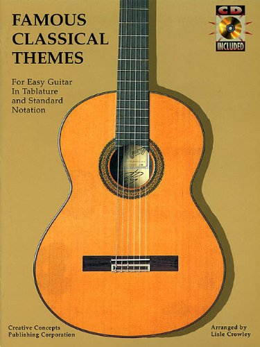 Famous Classical Themes for Easy Guitar