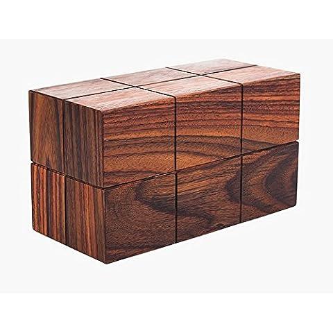 YUENLONG Carta rettangolare box creative home disegnare il vassoio , Marrone