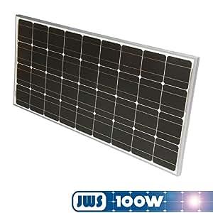100watt 100w solarpanel 12volt monokristallin. Black Bedroom Furniture Sets. Home Design Ideas
