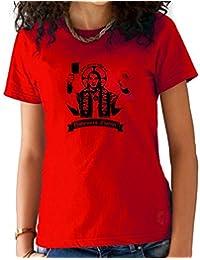 T-Shirt Femme ZLATAN IBRAHIMOVIC Rouge
