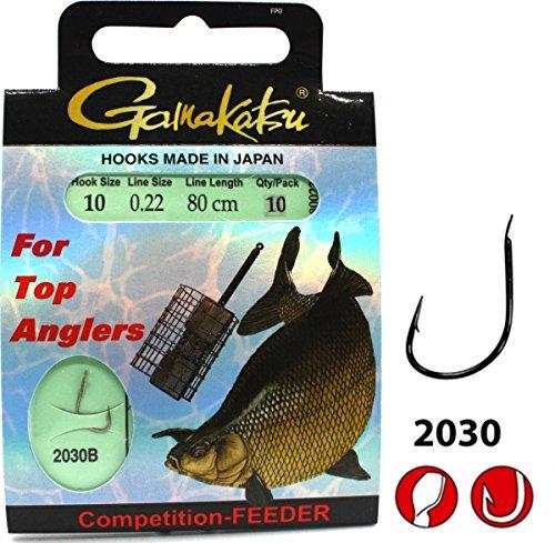 Gamakatsu Competition Brassen- Feeder Strong 2030 Größe 10