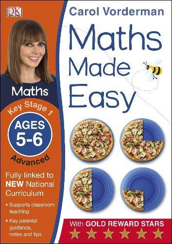 Maths Made Easy Ages 5-6 Key Stage 1 Advanced (Made Easy Workbooks)