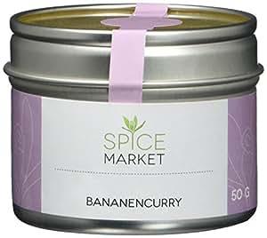 Spice Market Bananencurry - fruchtige Curry-Mischung mit leichter Schärfe, 2er Pack (2 x 50 g)