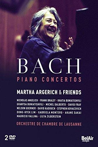 J.S. Bach- Klavierkonzerte [2 DVDs]