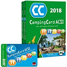 CampingCard 2018 20 countries 2018 - Lot de 2 Livres