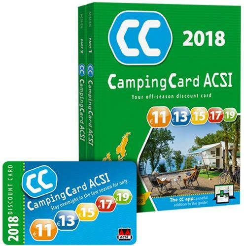 CampingCard 2018 GPS 20 countries
