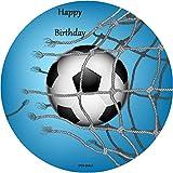 Tortenaufleger Fussball 01