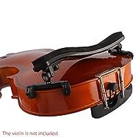 Festnight Adjustable Universal Type Violin Shoulder Rest Plastic EVA Padded for 3/4 & 4/4 Fiddle Violin