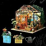 cinnamou Kreative Geschenk Spielzeug - hölzerne DIY Puppenhaus - 3D-Stereo-Puzzle - Hand montiert