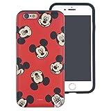 iPhone 6S Plus/iPhone 6Plus Coque, Disney Mignon Couche Hybride [TPU + PC] Coque Bumper [Absorption des Chocs] pour Iphone6s Plus/iPhone6Plus Pattern Mickey Mouse (iPhone 6S Plus/iPhone 6 Plus)
