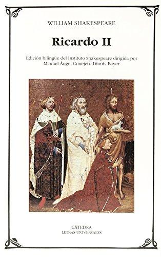 Ricardo II (Letras Universales) por William Shakespeare