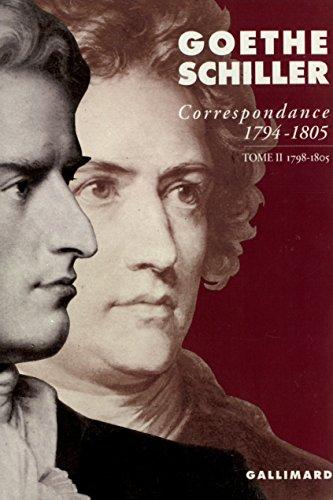 Correspondance (Tome 2-1798-1805): (1794-1805)