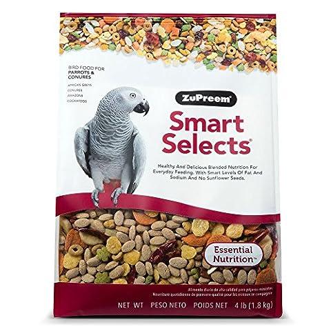 Zupreem Smart Sélectionne Parrot Amazones et nourriture pour oiseaux 1,8kilogram