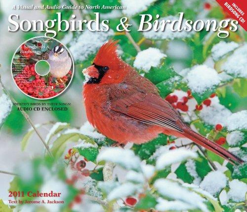 Songbirds & Birdsongs 2011 Calendar (Gladstone Kalender)