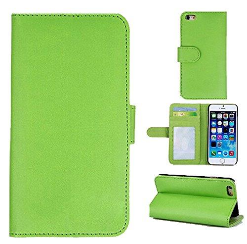 Custodia per iphone 5s,iphone 5 custodia portafoglio,nakeey custodia in pelle protettiva portafoglio flip case cover per iphone 5 5s (5s1)