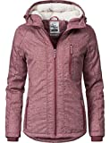 Sublevel Damen Jacke Winterjacke 44400A Dark Rose Gr. M