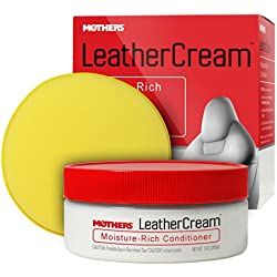 Mothers 06310 Leather Cream Moisture-Rich Conditoner - 7 oz.