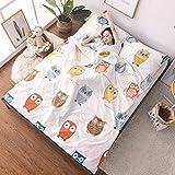XILIUHU Schlafsäcke Schlafsack faul Bett Sofa schlafen Bett Hotel getrennt Schmutzig Baumwolle Reisen Legen Tasche Länge, Farbe 14 2.0