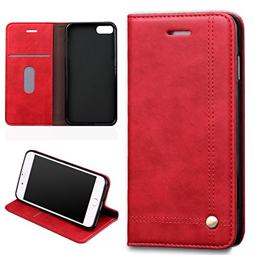 verttek-leather-case-for-apple-iphone-7-retro-design-hot-red-flip-case-full-body-with-card-holder-ca