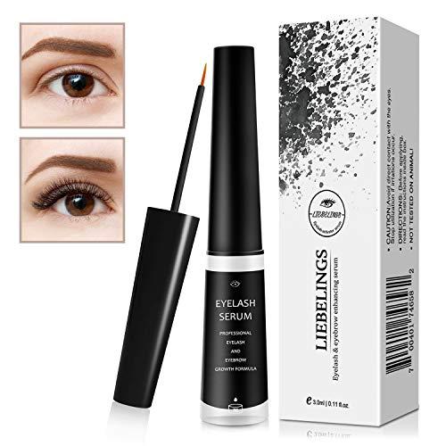 WEIJI Wimpernserum Wimpern-Wachstum Wimpernpflege Augenbrauenserum Serum Wimpern Augenbrauen,3ml