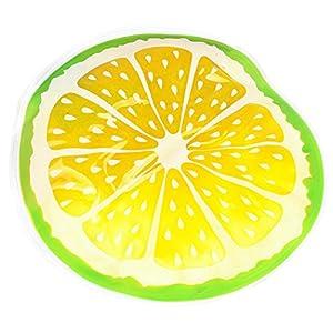 Legendog Tapis pour Chien Matelas de Chien Imperméable Refroidissant La Natte de Chenil de Tapis de Lit D Animal Familier de Modèle de Fruit pour Lété