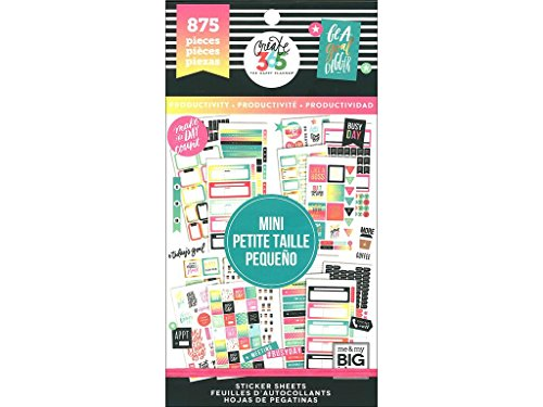 Unbekannt Me & My Big Ideas Big Mini Produktivität HP Aufkleber Value Pack -
