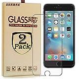 ZEEREE [2 Pièces] pour Apple iPhone7 Film de Protection D'écran, Ultra Résistant...