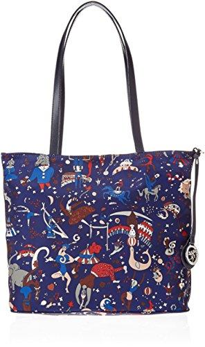 9de3ed37af Piero Guidi - Reversible Tote Bag, Bolsos totes Mujer, Azul (Royal),