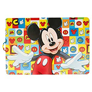 Stor Mantel Individual Mickey Mouse - Disney - Icons