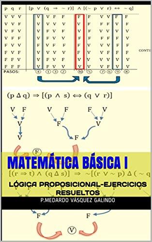 MATEMÁTICA BÁSICA I: LÓGICA PROPOSICIONAL-EJERCICIOS RESUELTOS de [GALINDO, P.MEDARDO
