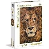 Clementoni - Puzzle de 500 piezas, High Quality, diseño Cara De León (302307)