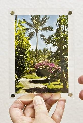 SORA Acrylrahmen mit Magnetsteckern für Fotos 9 x 13 cm;
