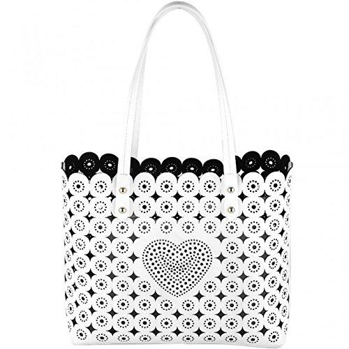 BRACCIALINI TUA Lizzy Shopper Bianca B10341