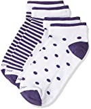 #9: Jockey Women's Cotton Low show socks (7480-0210-WTRBM_Free Size)